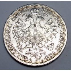 1 florin 1863 A