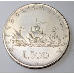 500 lire 1958