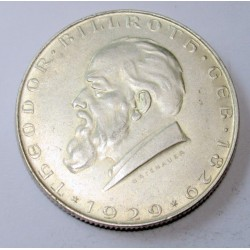 2 schilling 1929 - Theodor Billroth