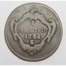 Joseph II. 1 soldo 1788 K - Gorizia