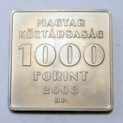 1000 forint 2008 - Puskás Tivadar