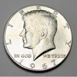 half dollar 1967