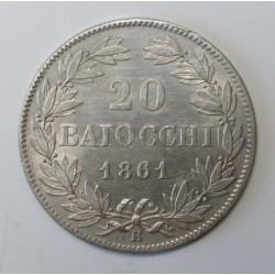 20 baiocchi 1861