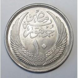 10 piastres 1957