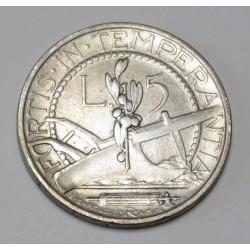 5 lire 1935