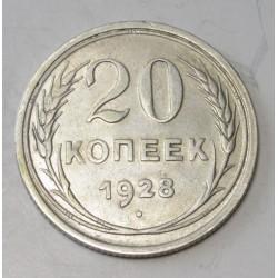 20 kopeks 1928