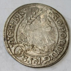 Leopold I. 3 kreuzer 1668 Breslau