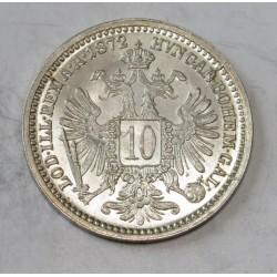 10 kreuzer 1872