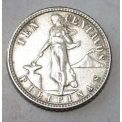 10 centavos 1944 D