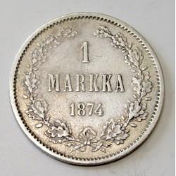 1 markka 1874