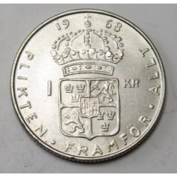 1 krona 1968