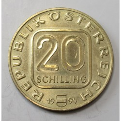 20 schilling 1994 - Vienna Mint is 800 years old