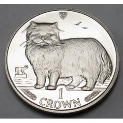 1 crown 1989 PP - Persian cat