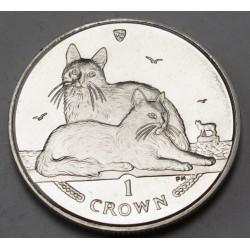 1 crown 2011 PP - Turkish Angora Cat