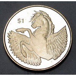 1 dollar 2018 PP - Pegasus