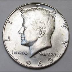 1/2 dollar 1969