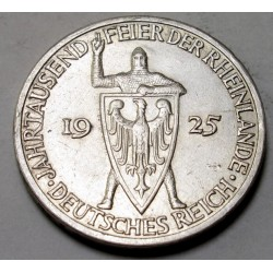 3 reichsmark 1925 A - In memory of the Rhineland