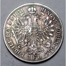 1 florin 1871 A