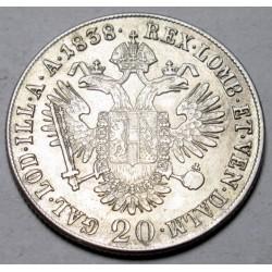 Franz II. 20 kreuzer 1838 B