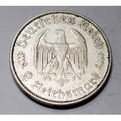 2 reichsmark 1934 - Friedrich Schiller