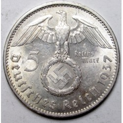 5 reichsmark 1937 A