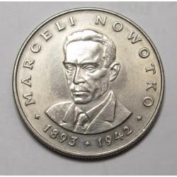 20 zloty 1974 - Marceli Nowotko