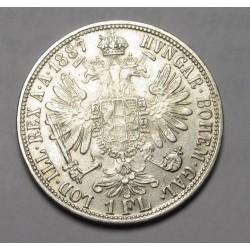 1 florin 1887