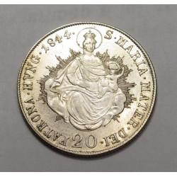 Ferdinand I. 20 kreuzer 1844 B