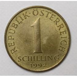 1 schilling 1992