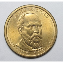 1 dollar 2011 - James Garfield