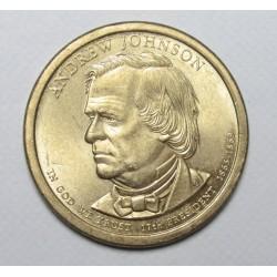 1 dollar 2011 - Andrew Johnson