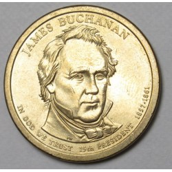 1 dollar 2010 - James Buchanan