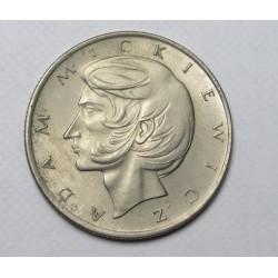 10 zlotych 1975 - Adam Mickiewicz poet