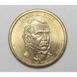 1 dollar 2009 - James h Polk