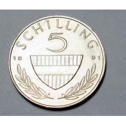 5 schilling 1991