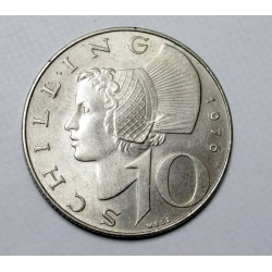 10 schilling 1976