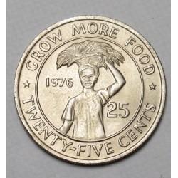 25 cents 1976 - FAO