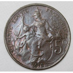 5 centimes 1912