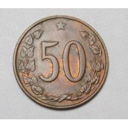 50 haleru 1964