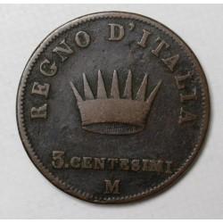 3 centesimi 1810 M