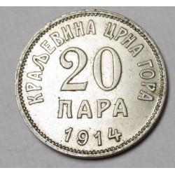 20 para 1914