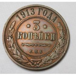 3 kopeks 1913