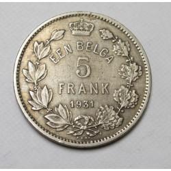 5 francs 1931