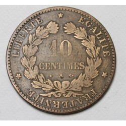 10 centimes 1874 A