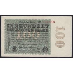 100 millionen mark 1923