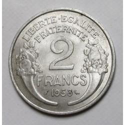 2 francs 1958