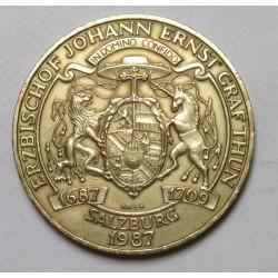 20 schilling 1987 - Johann Ernst Prince of Salzburg