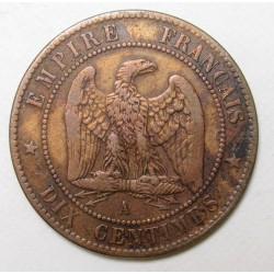 10 centimes 1854 A
