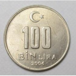 100 lira 2004