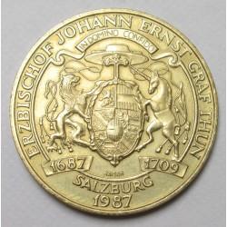 20 schilling 1993 - Johann Ernst Graf prinf of Salzburg